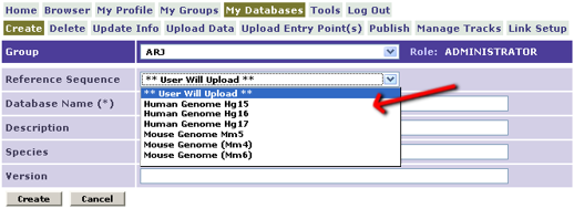 Use A Template Genome